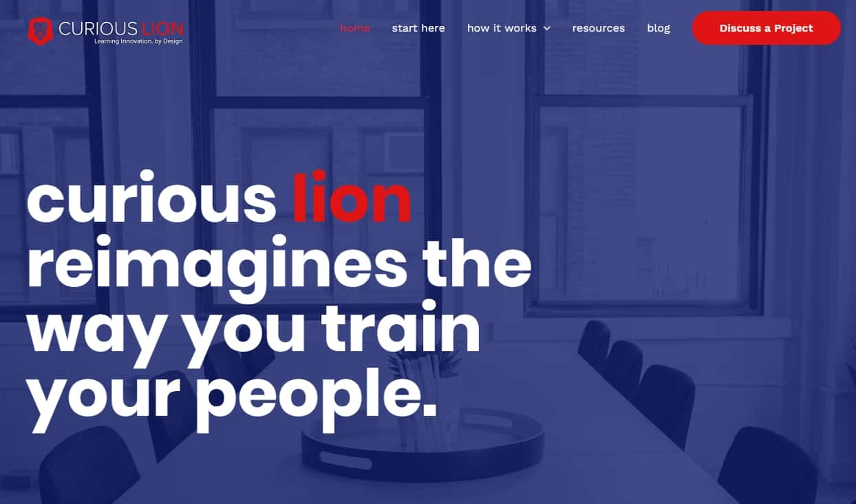 Curious Lion partners with learner leaders to help them scale their digital training