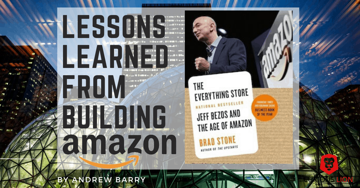 Lessons learned from building Amazon