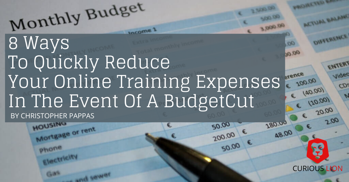 reduce online training expenses