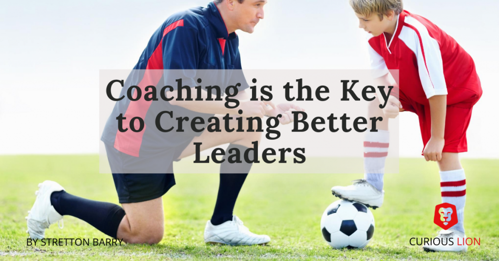 Learning about coaching while learning to be a Dad
