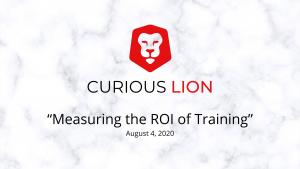 Measuring the ROI of Training