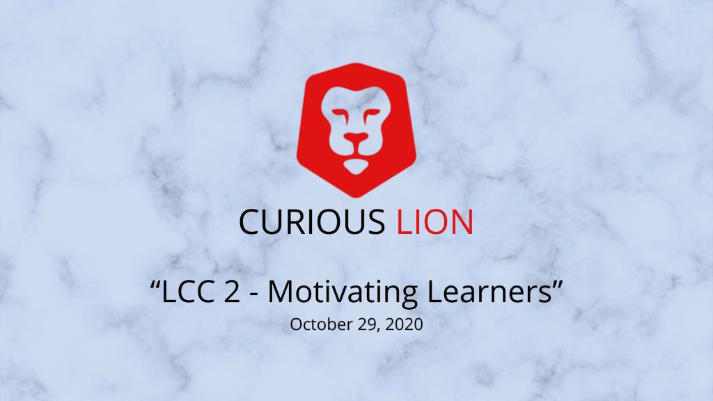 LCC 2 - Motivating Learners