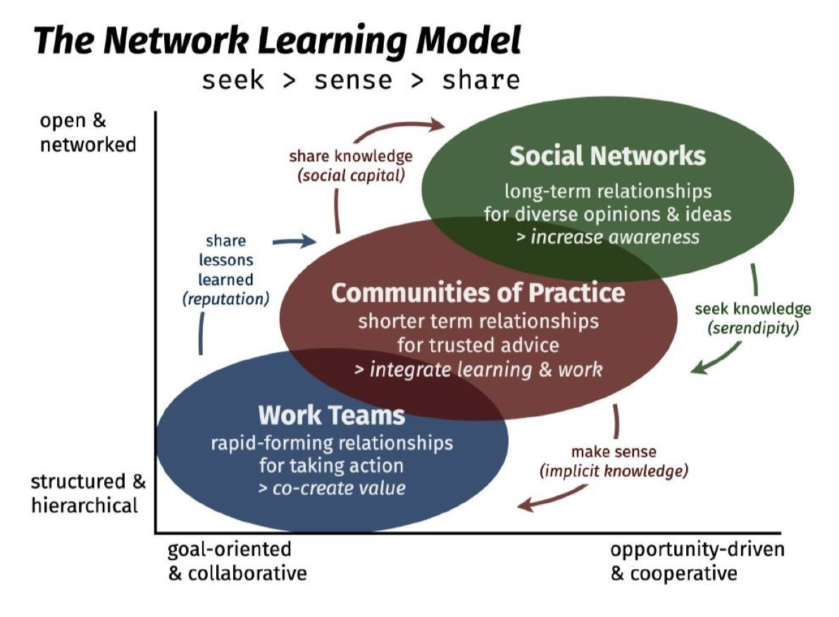 Communities of practice in networked learning