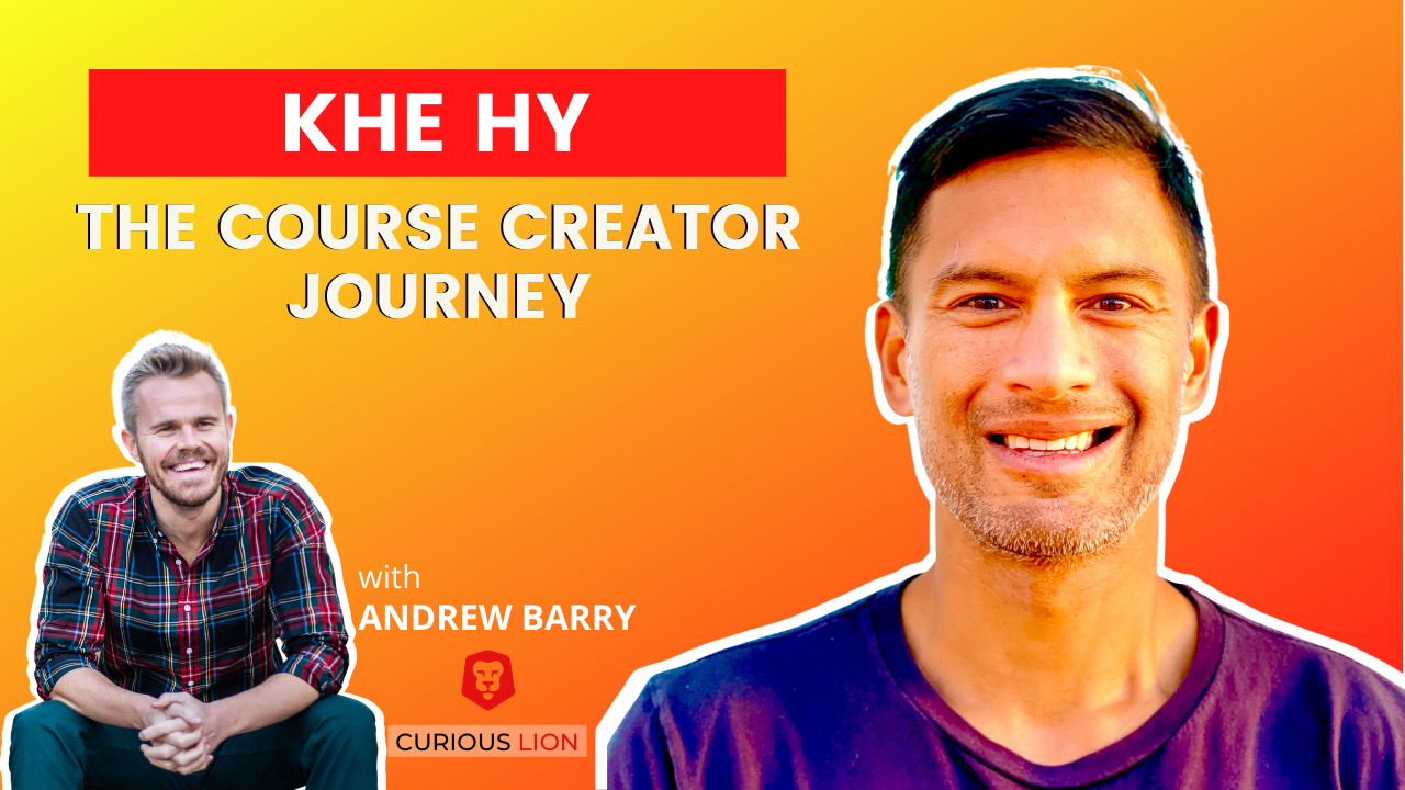 Khe Hy on The Course Creator Journey