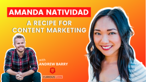 Amanda Natividad on A Recipe for Content Marketing