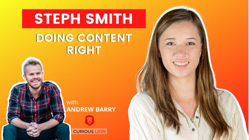 Steph Smith on Doing Content Right