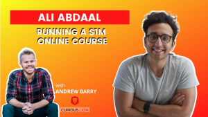 Ali Abdaal on Running a $1M Online Course