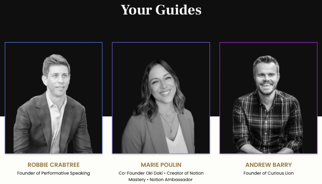 The Course Creators Collective Guides