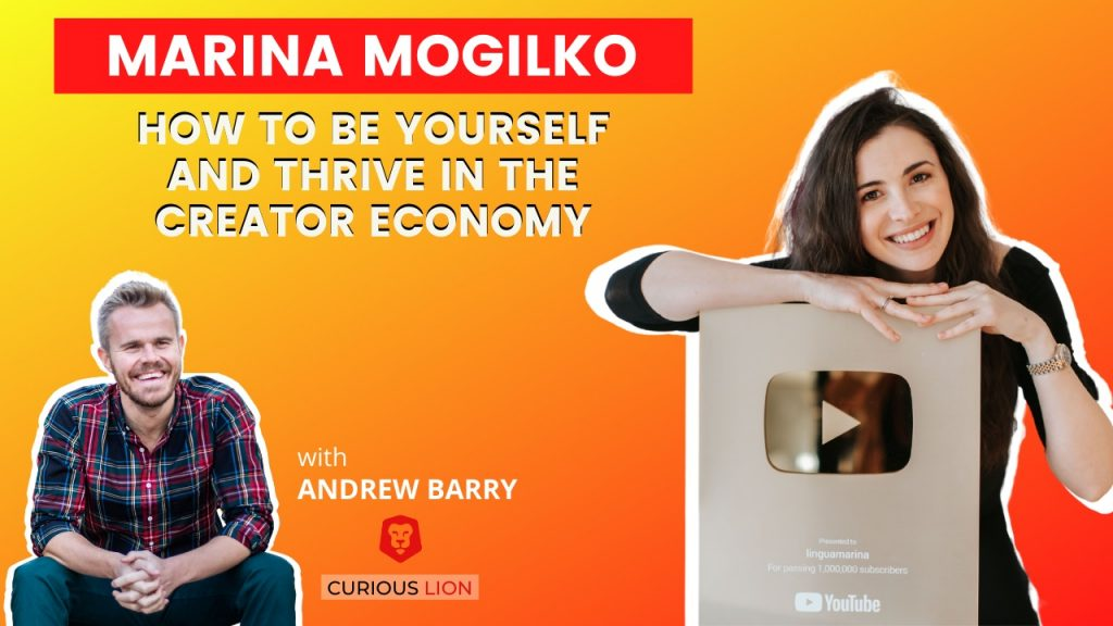 Marina Mogilko on How to Be Yourself and Thrive in the Creator Economy