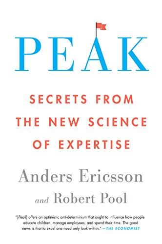 Peak book on deliberate practice